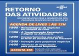 SEBRAE SP - Todos os dias às 17h, em nossa página do Facebook e no canal Sebrae-SP do Youtube