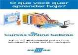 Associação Comercial de Capão Bonito em ação com o SEBRAE está disponibilizando cursos gratuitos