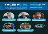 Live da Facesp sobre a Lei do Contribuinte Legal.