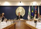 Palestra do Presidente do Senado Federal, Senador Rodrigo Pacheco, sobre o tema O momento político Nacional,