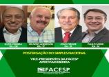 Vice-presidentes da Facesp avaliam que suspensão temporária do Simples