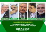 Vice-presidentes da Facesp avaliam que o PFor fará com que as Associações Comerciais se desenvolvam