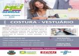CAPACITAÇÃO DE COSTURA - SENAI ACIAP SEBRAE E PREFEITURA.